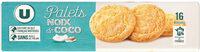 Palets dorés noix de coco - Produit - fr