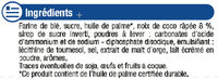 Palets dorés noix de coco - Ingrédients - fr