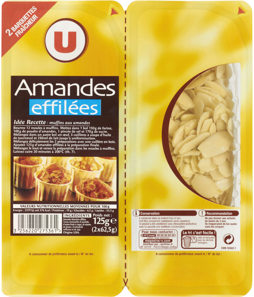 Amande effilée - Produit - fr