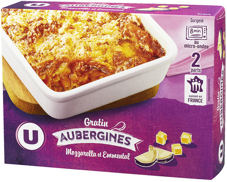 Gratin d'aubergines - Product
