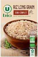 Riz long grain semi-complet - Produit - fr