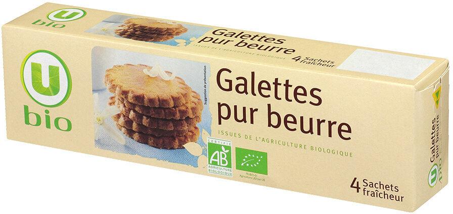 Galettes pur beurre bio - Produit - fr