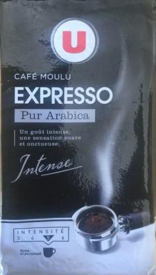 Café moulu Expresso pur arabica - Product