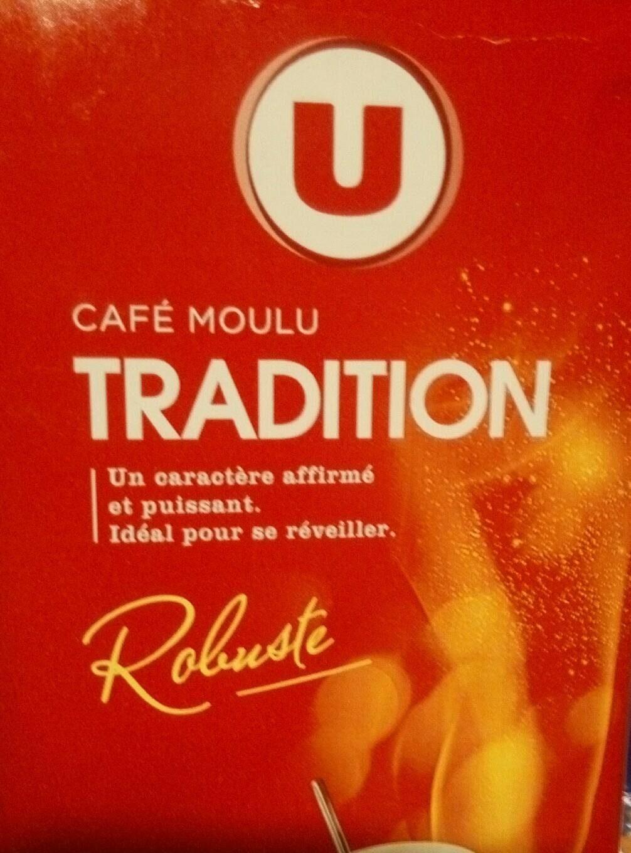 Café Tradition moulu - Nutrition facts
