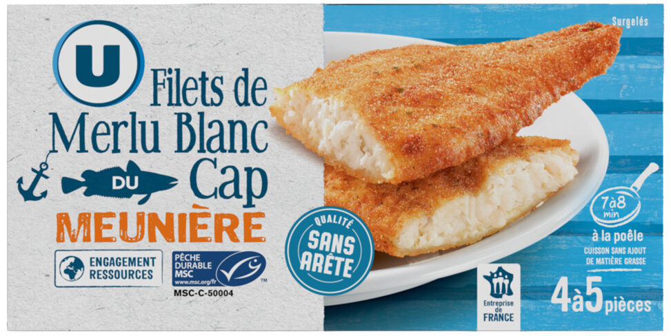Filets de merlu blanc meunière - Product