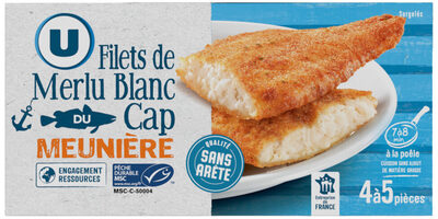 Filets de merlu blanc meunière MSC - Product - fr