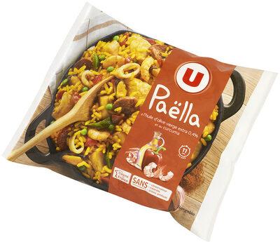 Paëlla aux fruits de mer, aiguillettes de poulet, colin d'Alaska et chorizo - Product