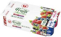 Yaourts au lait entier sucrés aux fruits rouges - Product