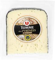 Tomme des Pyrénées lait pasteurisé 28% de matière grasse - Produit - fr