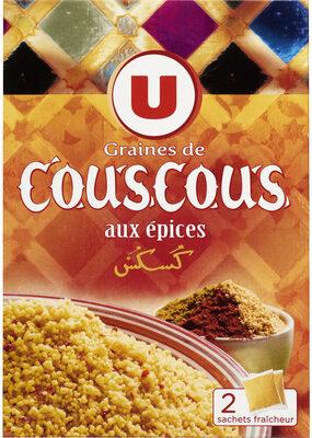 Graines de couscous aux épices - Produit - fr
