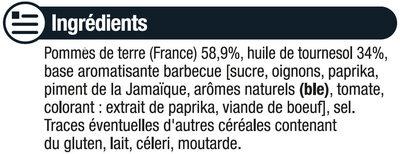 Chips saveur barbecue - Ingrédients