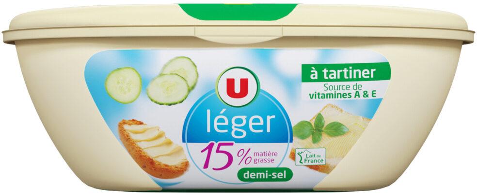 Matière grasse laitière légère 1/2 sel 15%MG - Prodotto - fr