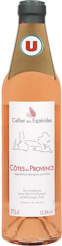"""Cotes de Provence AOC rosé """"CELLIER DES ESPERIDES"""" - Product"""