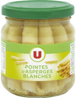 Pointes d'asperges blanches - Product - fr