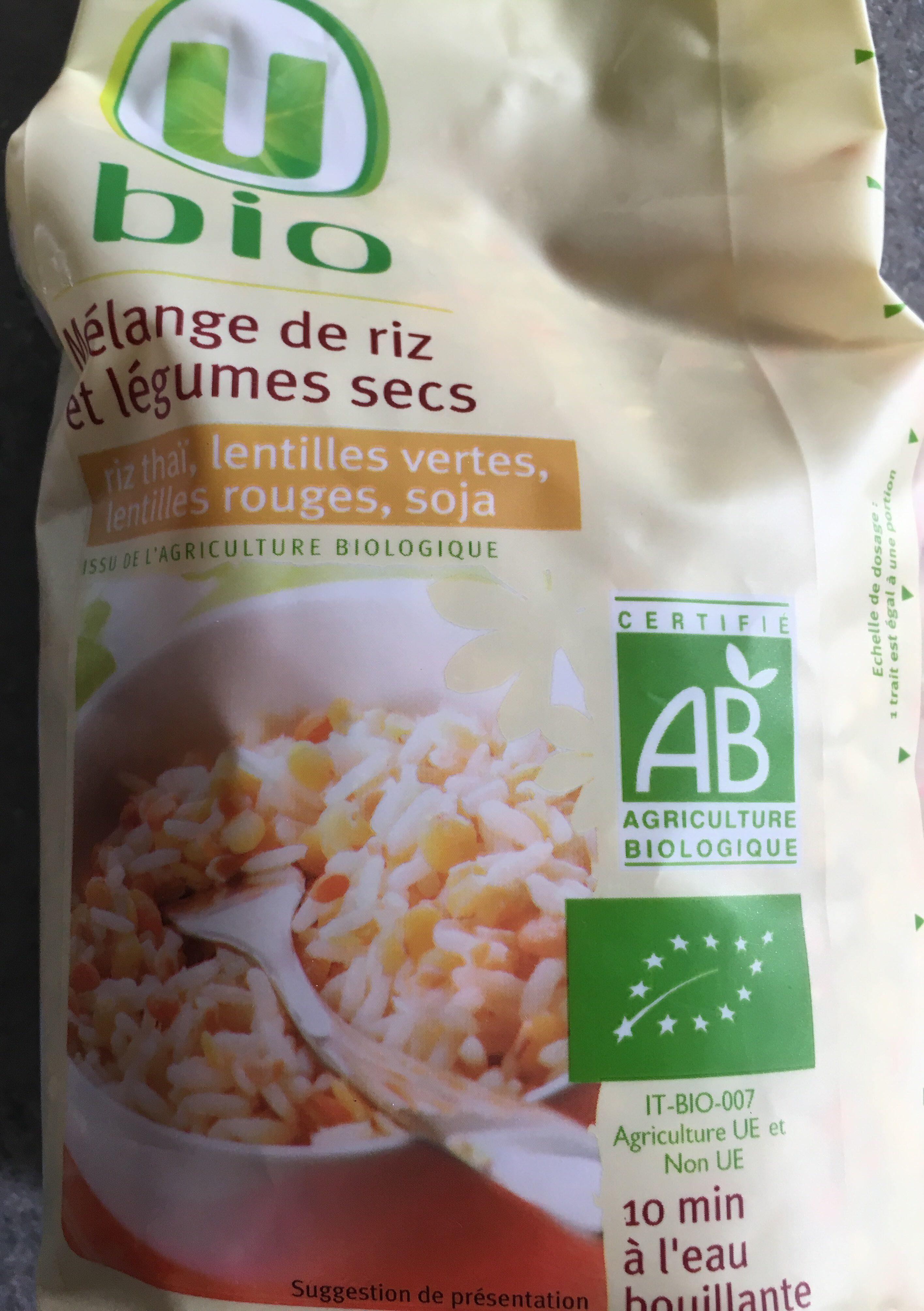 Mélange de riz et légumes secs - Product - fr