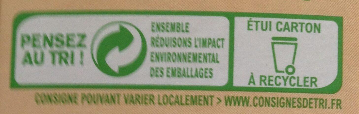 Penne complètes - Instruction de recyclage et/ou informations d'emballage - fr