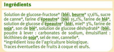 Gaufre au miel et à la farine d'épeautre - Ingredients - fr