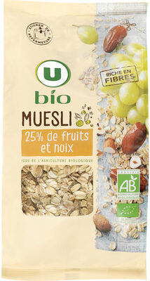 Muesli floconneux 25% de fruits et noix - Product - fr