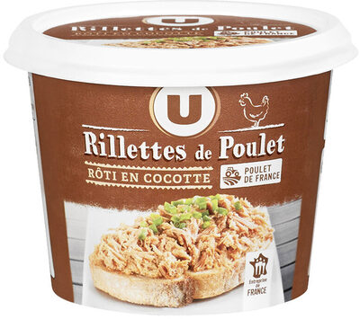 Rillettes de poulet rôti - Product