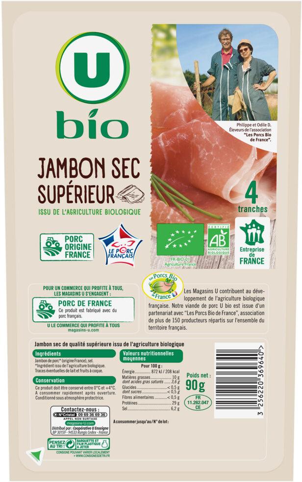 Jambon sec - Produit - fr