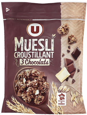 Muesli Croustillant aux 3 Chocolats - Product