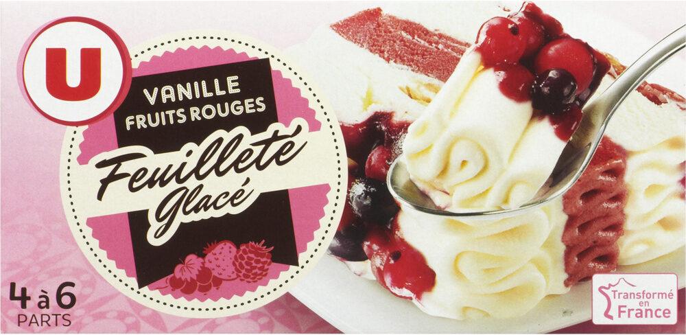 Feuilleté glacé vanille fruits rouges - Product - fr