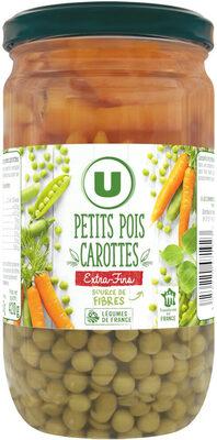Petits pois extra-fins et carottes à l'étuvée - Producto - fr