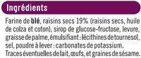 Toasts briochés aux raisins - Ingrédients - fr