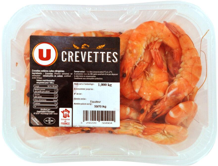 Crevette cuite, Penaeus spp - Product - fr