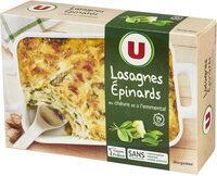 Lasagnes au chèvre et épinards - Produkt - fr