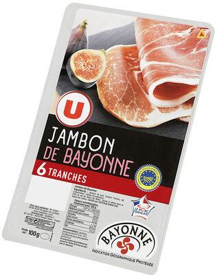 Jambon de Bayonne Indication Géographique Protégée - Product