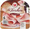 Jambon cuit au torchon découenné - Produit