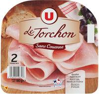 Jambon cuit supérieur sans couenne au torchon - Produit - fr