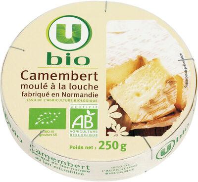Camembert moulé à la louche au lait microfiltré 20%MG - Product