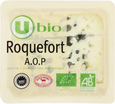 Roquefort AOP lait cr U_BIO logique 32% de MG - Product - fr