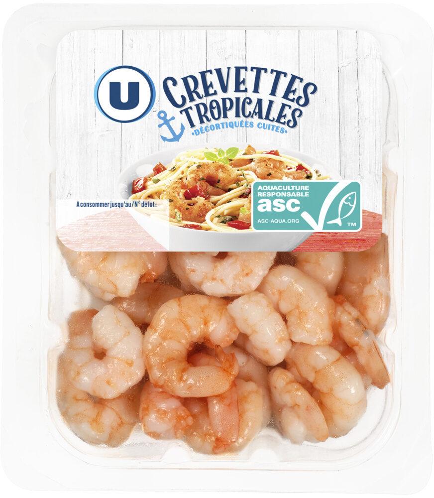 Crevettes tropicales décortiquées cuites ASC - Product