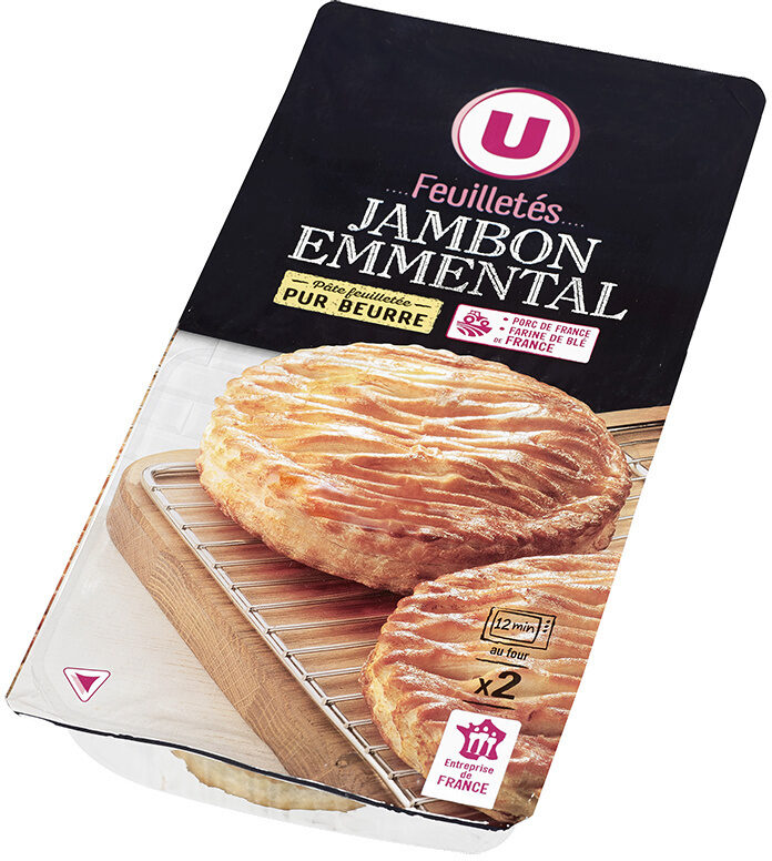 Feuilletés jambon/emmental - Produit - fr