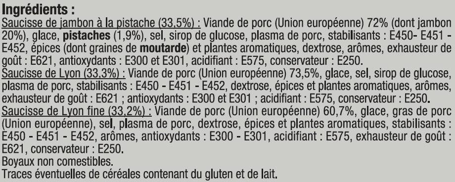 Assortiment Alsacien - Ingredients - fr