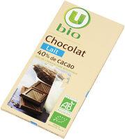 Tablette de chocolat au lait - Product