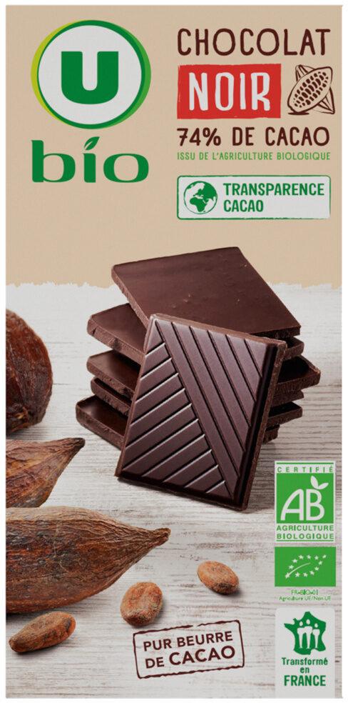 Tablette de chocolat noir - Product