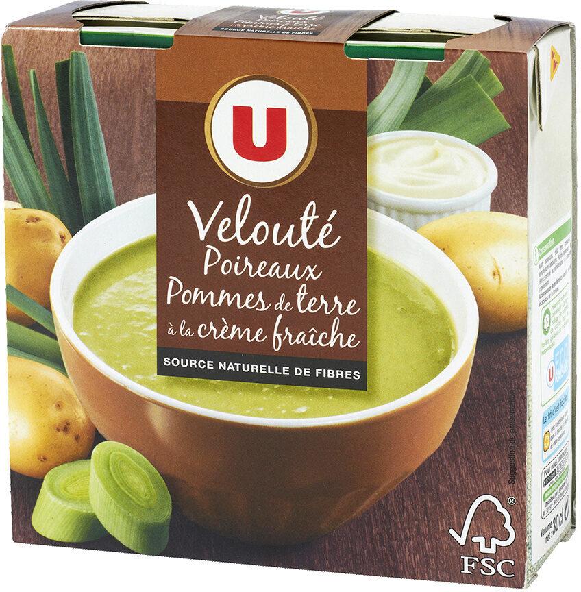 Velouté de poireaux et pommes de terre - Product - fr