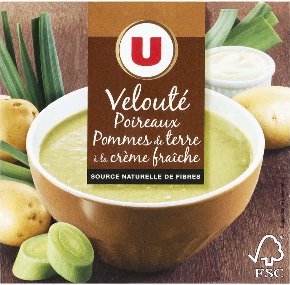 Velouté de poireaux et pommes de terre - Produit - fr