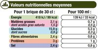 Mouliné de légumes vert - Voedingswaarden - fr
