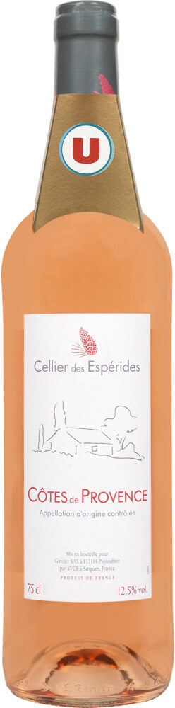 Vin rosé AOC Côtes de Provence Cellier des esperides - Product - fr
