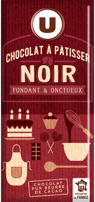 tablette de Chocolat à patisser - Product