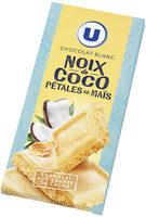 Chocolat blanc à la noix de coco et pétale de maïs - Produit