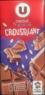 Chocolat lait croustillant - Produit - fr