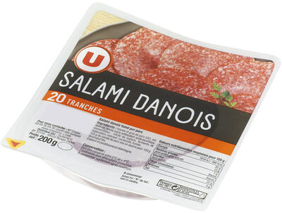 Salami danois - Product - fr