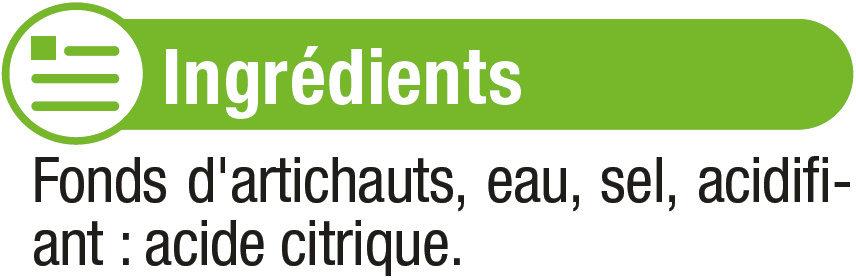 Fonds d'artichauts - Ingrédients