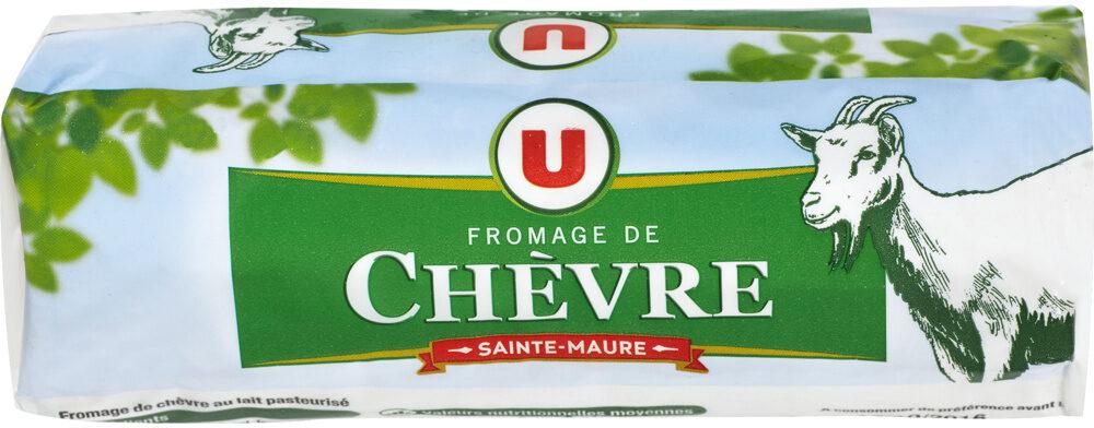 Fromage au lait de chèvre pasteurisé Sainte Maure 25%mg - Produit - fr